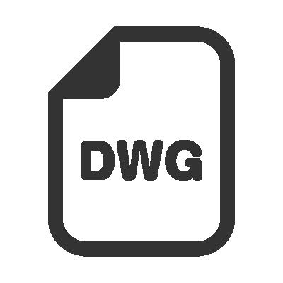 立水栓ロング F007 DWG ダウンロード