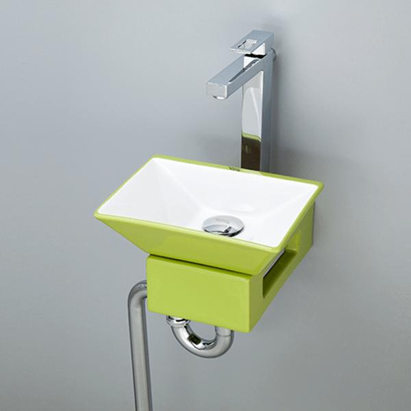 おしゃれでカラフルで個性的な洗面空間を演出できます。洗面ボウル カラフル-14 B090