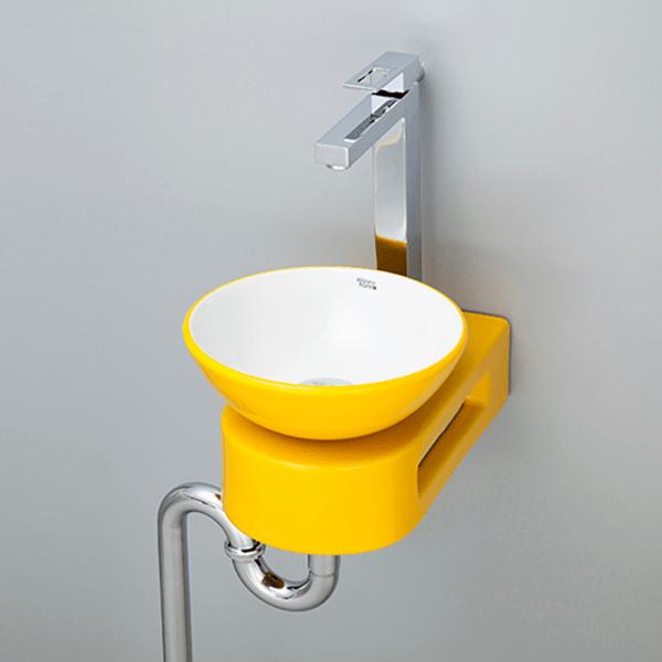 おしゃれでカラフルで個性的な洗面空間を演出できます。 洗面ボウル カラフル-15 B091
