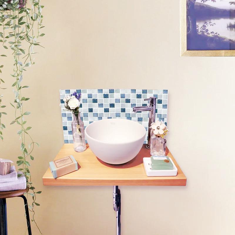 かえり手洗い 「おかえり!」といつも最初におでむかえ おかえり手洗い CLB_TA カウンター色:ライトブラウン パネルタイプ:Aタイプ